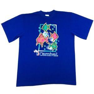 Vintage Carnival Cruise Line Single Stitch T-Shirt